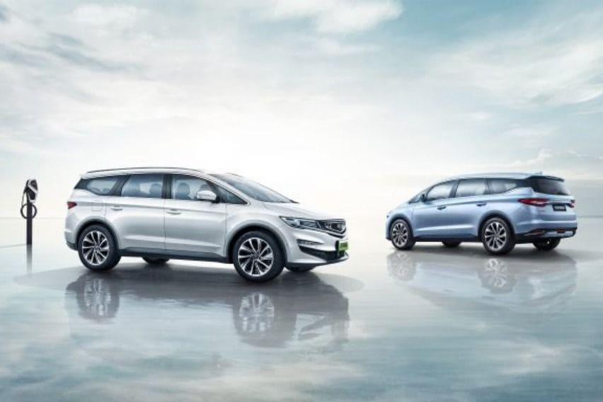 Geely electrified vehicles