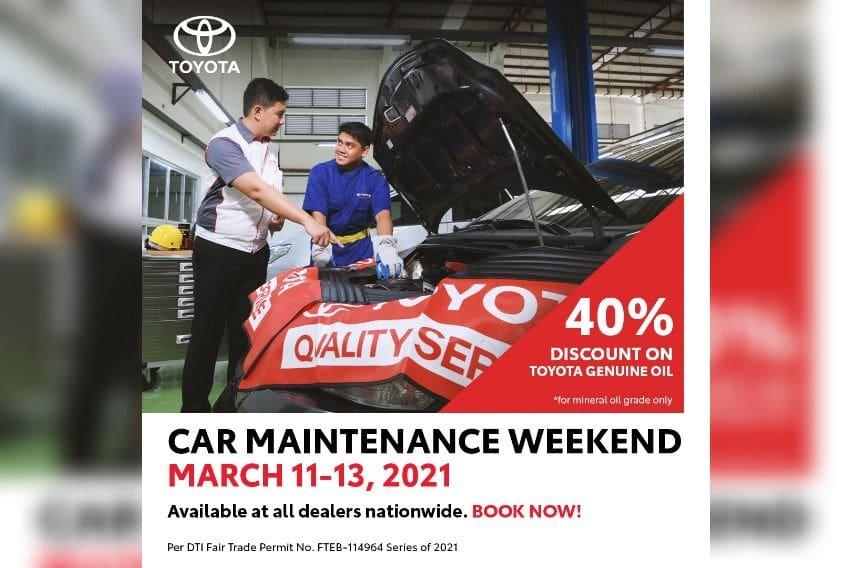 Toyota Car maintenance week