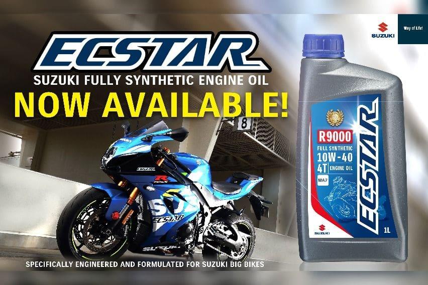 Suzuki ECStar motorcycle engine oil