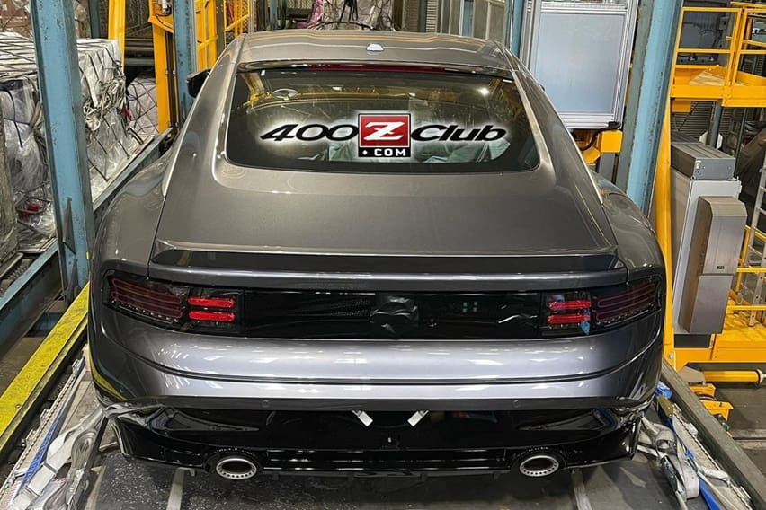 Nissan 400Z rear end