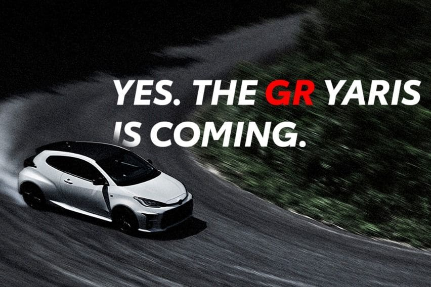 GR Yaris teaser