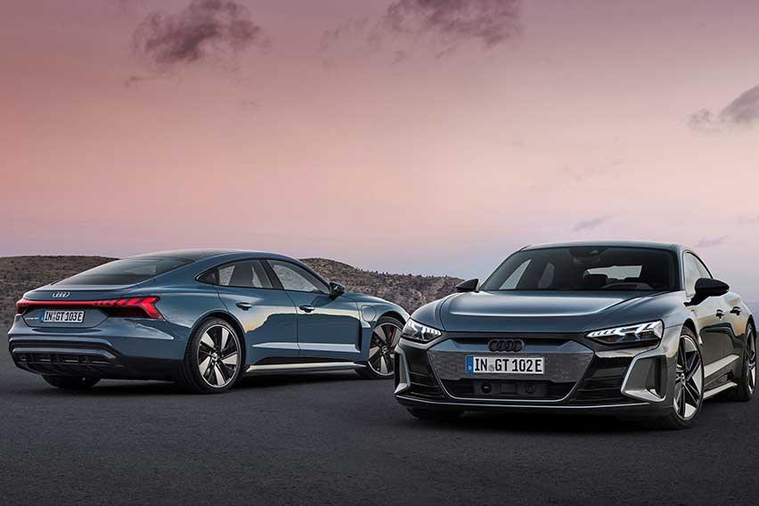 Audi e-tron GT and Audi RS e-tron GT