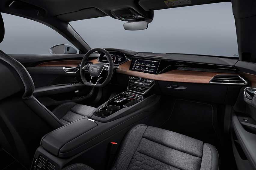 Audi e-tron GT interiors