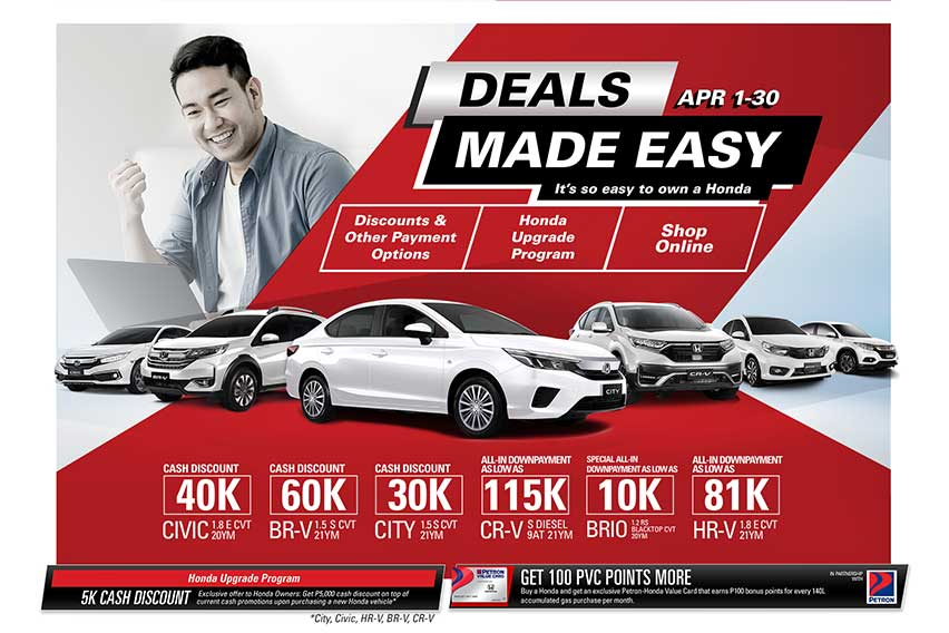Honda Deals Made Easy