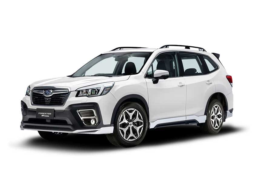Subaru-Forester-White-New-Variant