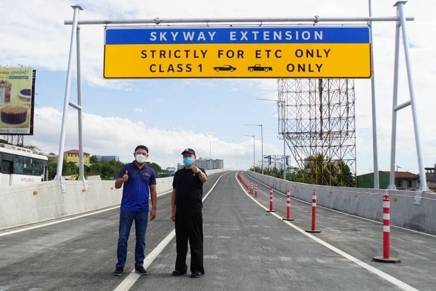 SMC Skyway 3 northbound