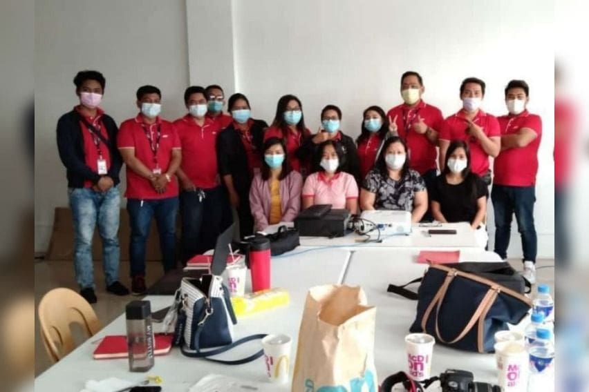 PDEA training for J&T Express