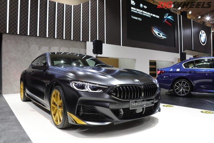 BMW 840i Gran Coupe Golden Thunder