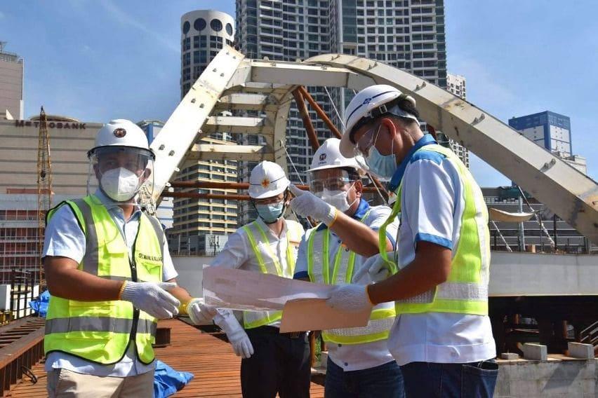 Binondo-Intramuros Bridge inspection