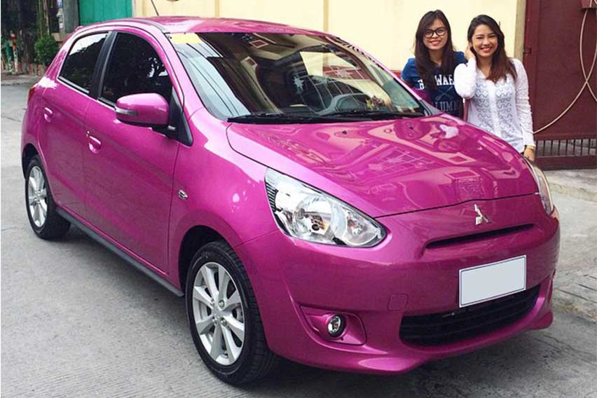 Purple-Mitsubishi-Mirage