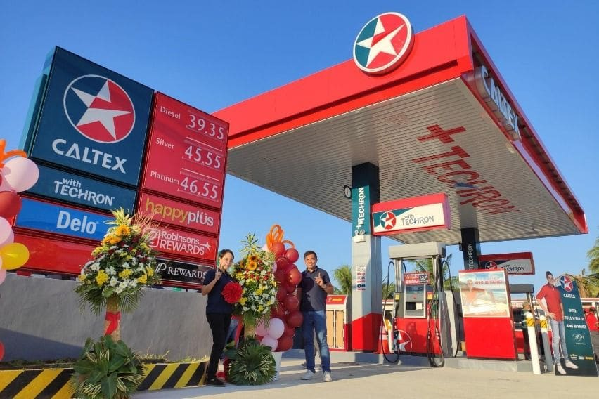 Caltex station in Candon