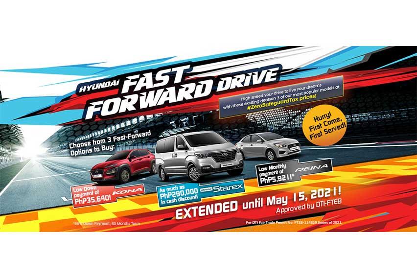 Hyundai \'Fast Forward Drive\' promo runs until May 15