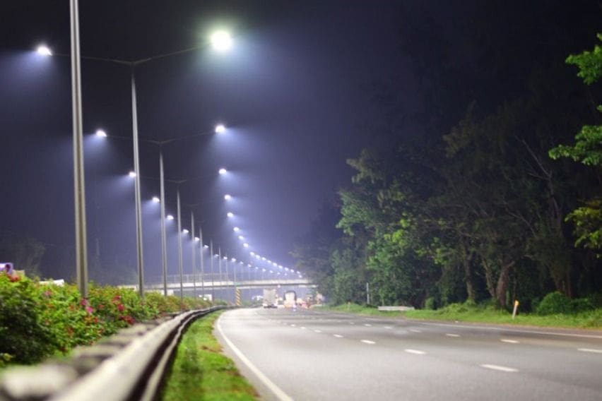 NLEX Corporation lighting upgrade