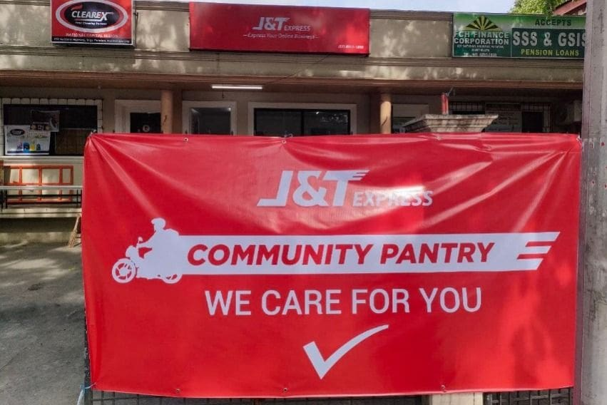 J&T Express Philippines community pantry