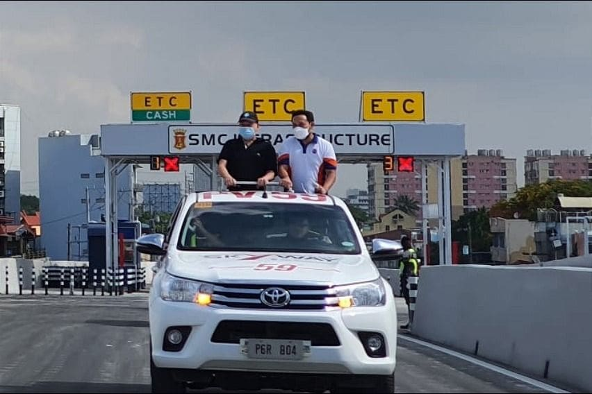 Skyway Stage 3 Nagtahan ramp inspection