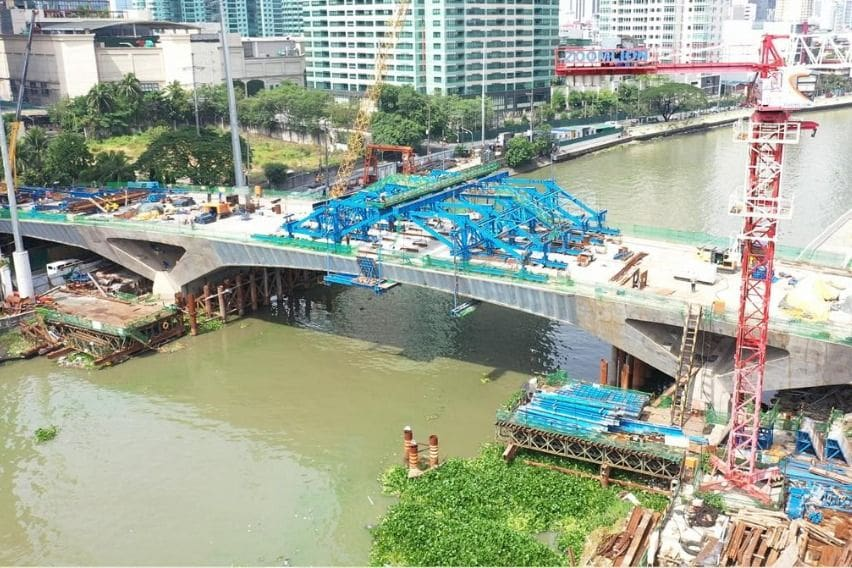 Estrella-Pantaleon Bridge inspection