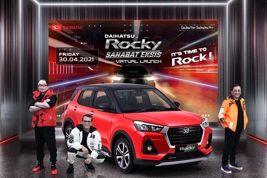Daihatsu Rocky launch