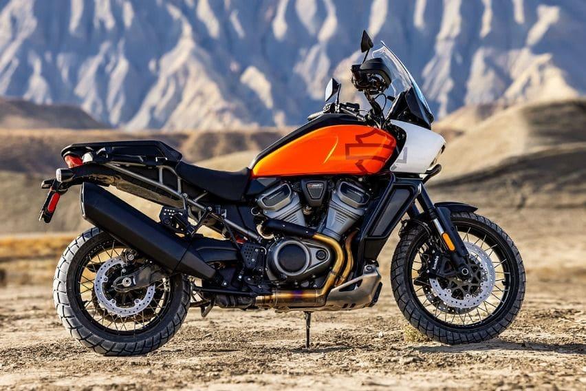 2021 Harley-Davidson Pan America Special Baja Orange