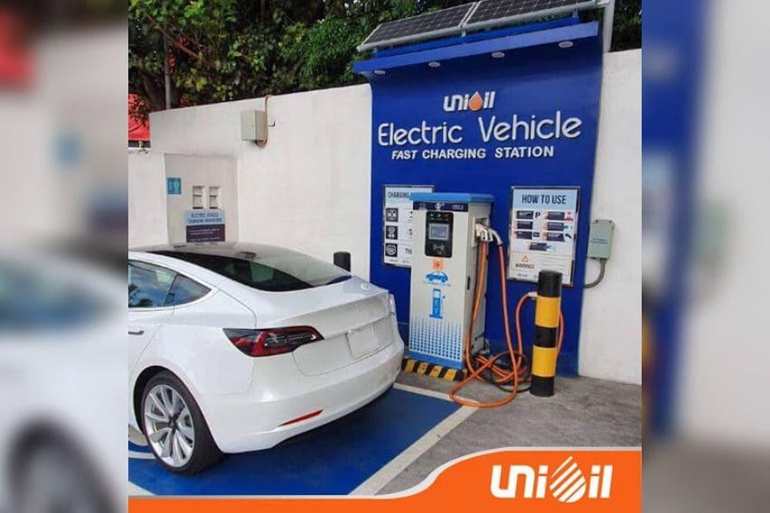 Unioil EV Charging station