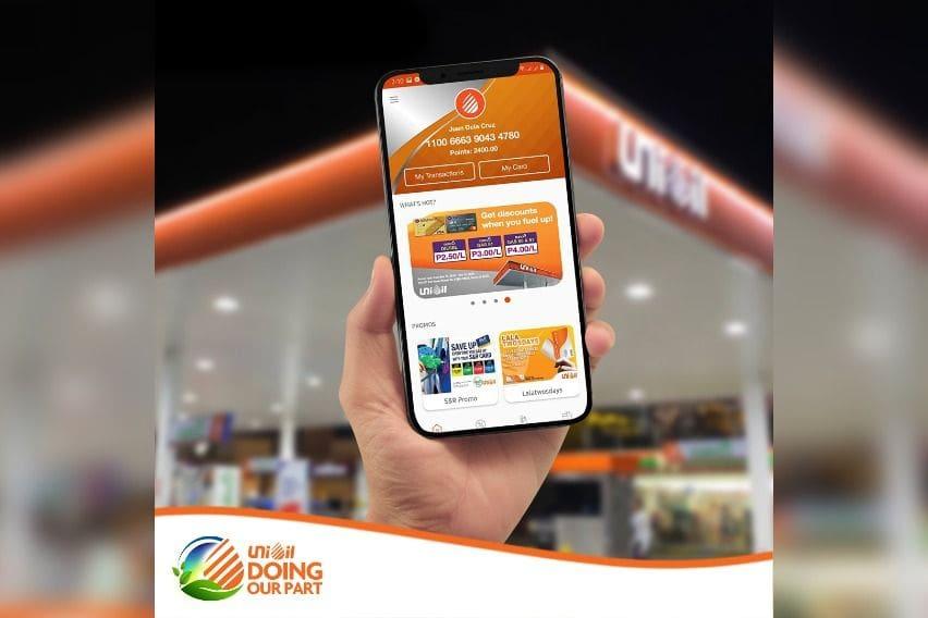 Unioil mobile app