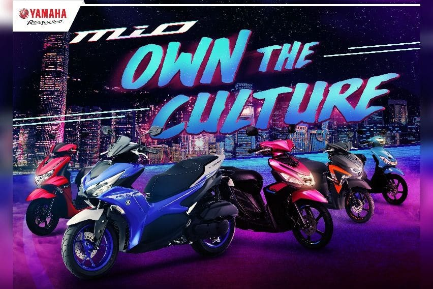 Own the Culture campaign for Mio lineup