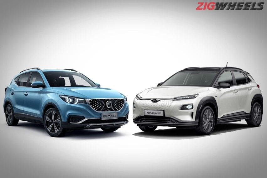 MG ZS vs Hyundai Kona