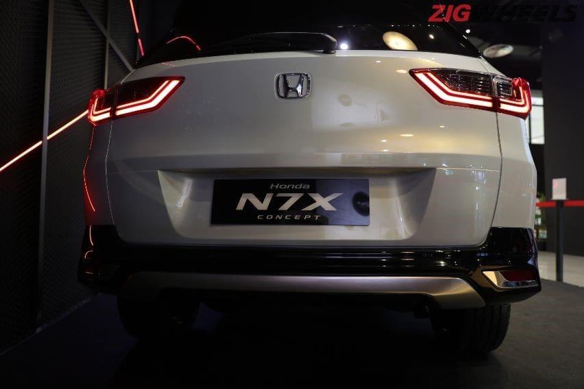 Honda N7X Concept rear end