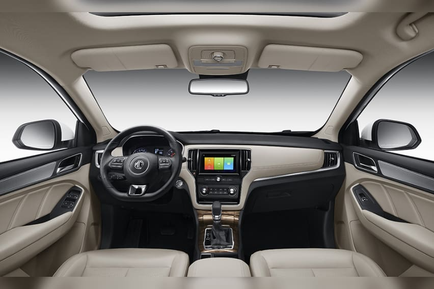 MG-RX5-Dashboard