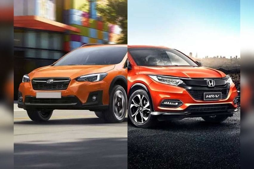 Crossover clash: Honda HR-V vs. Subaru XV