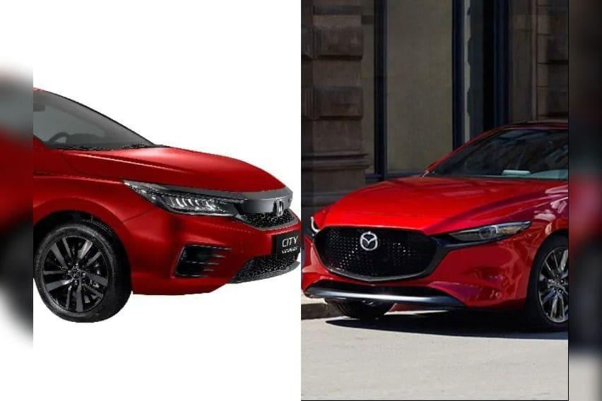 Sexy back: Mazda 3 Sportback vs. Honda City Hatchback