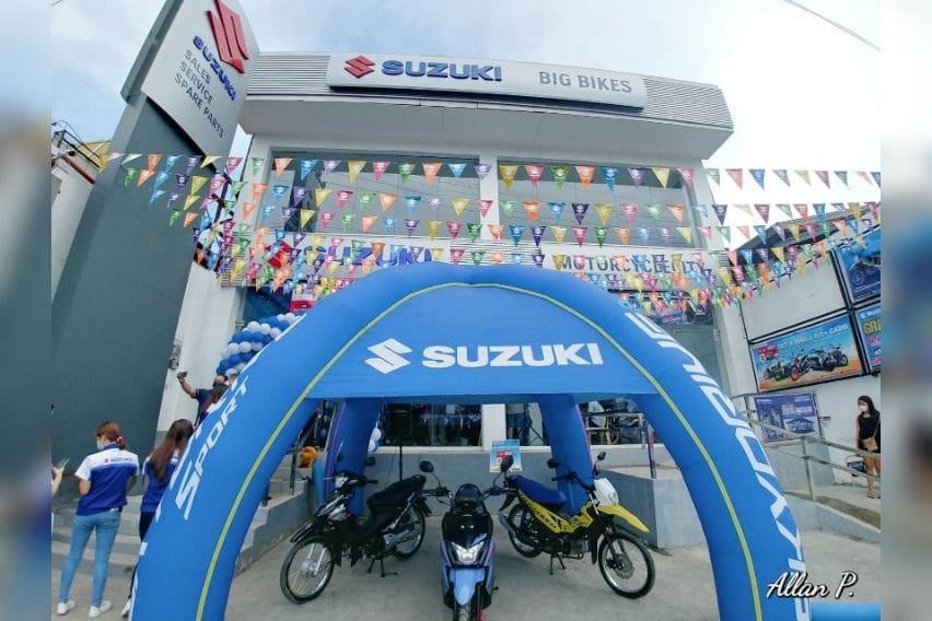 Suzuki Motorcycle shop in Antipolo