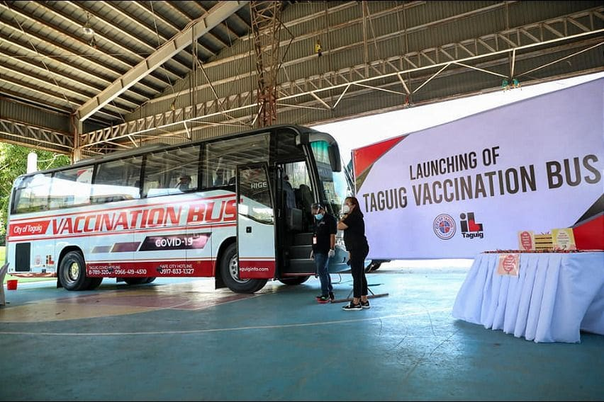 Taguig City Vaccination Bus