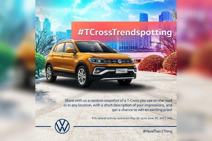 Volkswagen Philippines' #TCrossTrendspotting activity