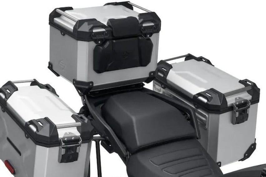 2021 Harley-Davidson Pan America Special 1250 aluminum luggage
