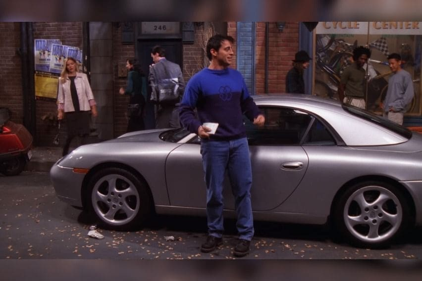 The One with Joey's Porsche
