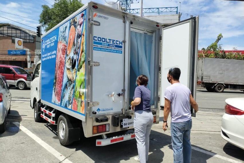 CFCI refrigerated vans