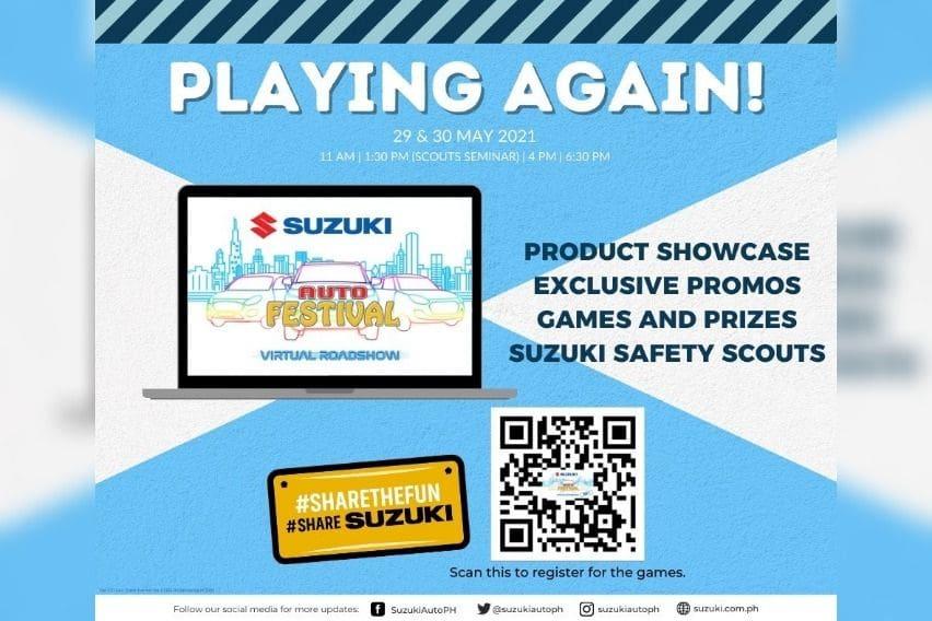 Suzuki Auto Festival Virtual Roadshow May 2021