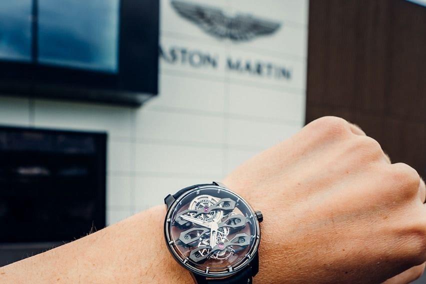 Tourbillon with Three Flying Bridges-Aston Martin Edition