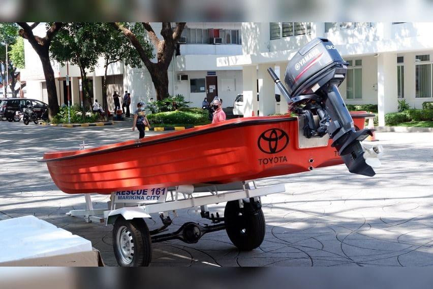 Toyota Motor Philippines' donation to Marikina City