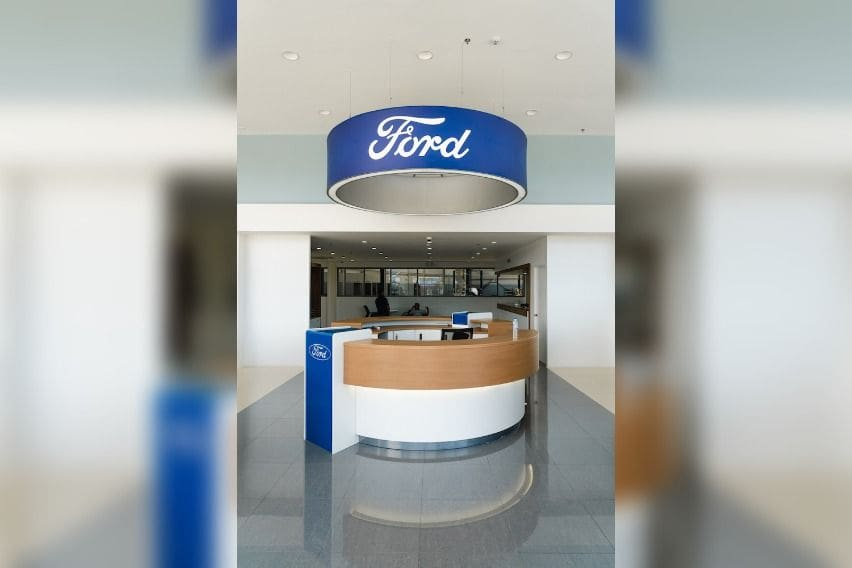 Ford Talisay reception