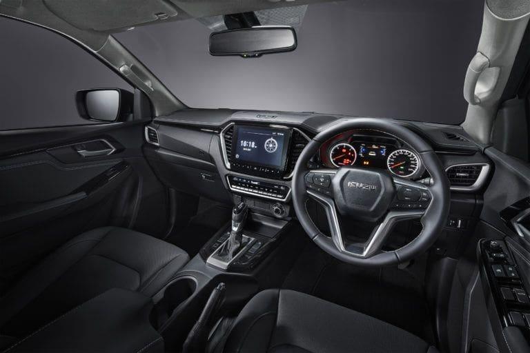 interior isuzu d-max