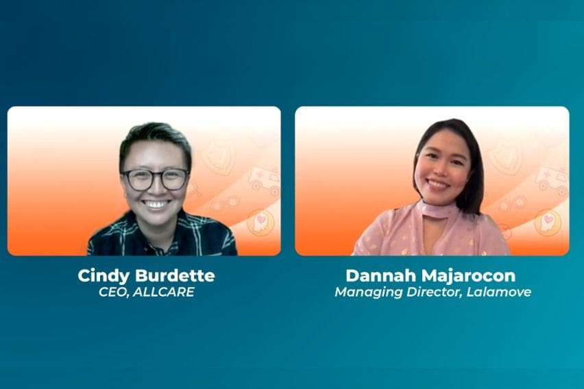 Allcare CEO Cindy-Burdette and Lalamove PH Managing Director Dannah Majarocon
